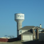 wylie water tower