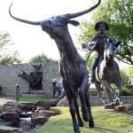 bronze cattle drive depictions